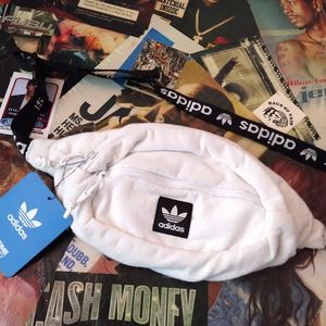 Brand New Adidas Terry Cloth Fanny Pack NWT